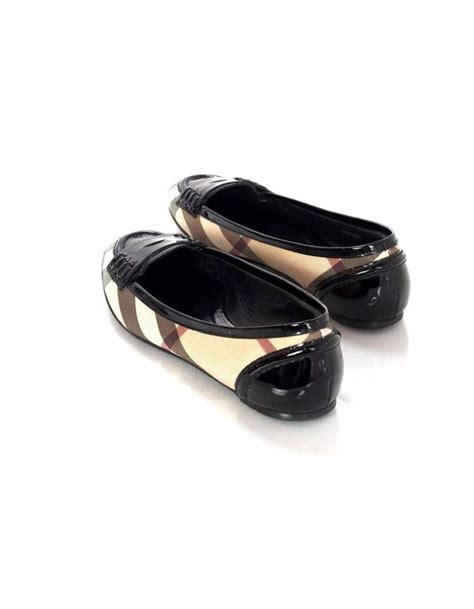 burberry loafers sale burberry plaid ballet loafer shoes sz 37 for sale at