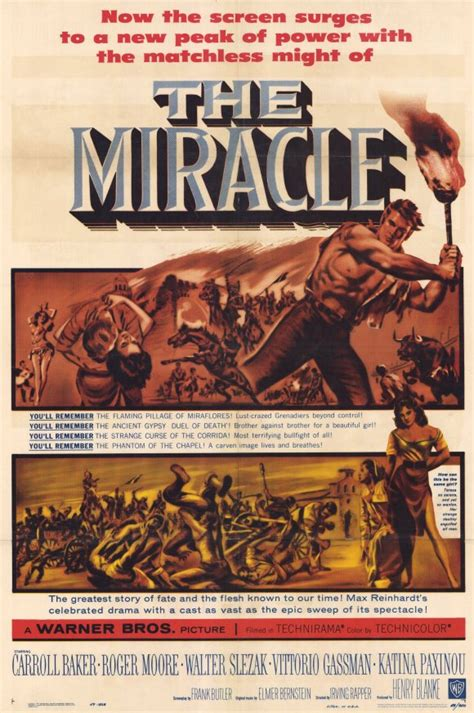 The Miracle 1959 The Miracle Posters From Poster Shop