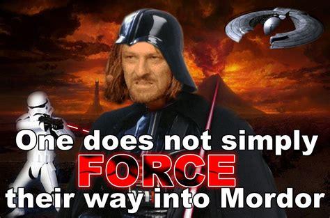 Mordor Meme - image 10154 one does not simply walk into mordor