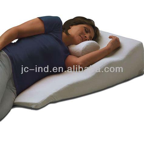 angled bed pillow reading sleeping memory foam bed wedge buy memory foam