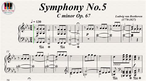ludwig van beethoven music symphony no 5 c minor op 67 ludwig van beethoven piano