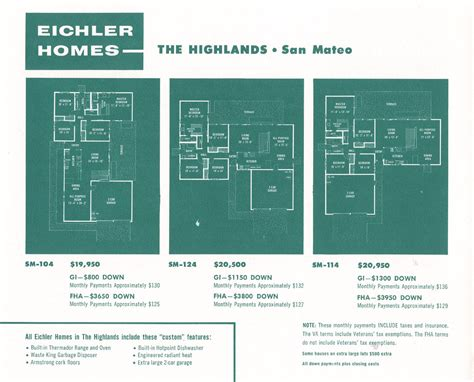 eichler plans eichler the house