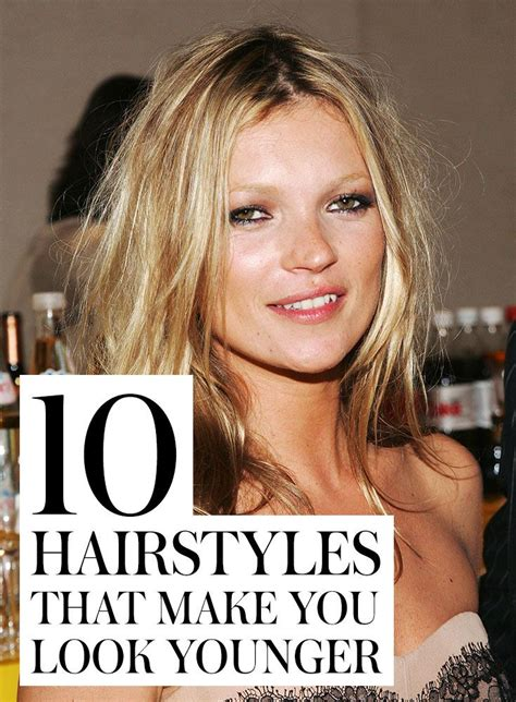 10 hairstyles that make you look younger 1000 images about hairstyles on pinterest short