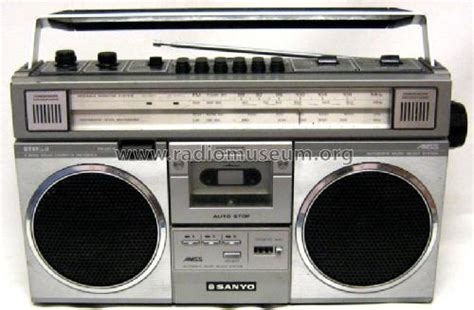 radio cassette stereo radio cassette recorder m 4200lu sanyo electric co