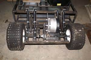 Electric Motor Car Project Rear Suspension1