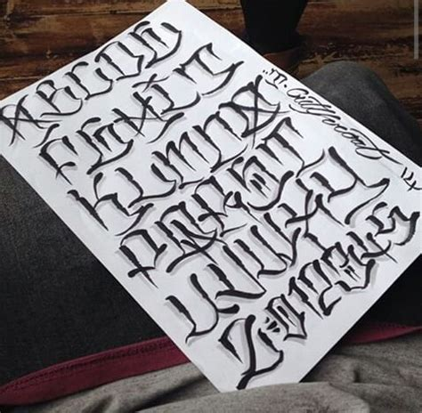 tattoo lettering thick lettering font lettering pinterest fonts tattoo and