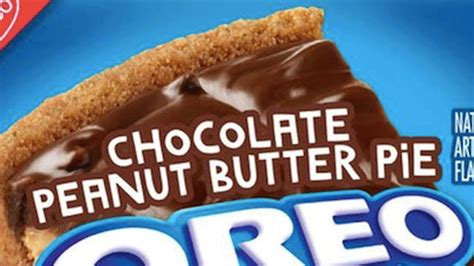 Oreo Peanut Butter Chocolate 137gr chocolate peanut butter pie oreos are coming to stores