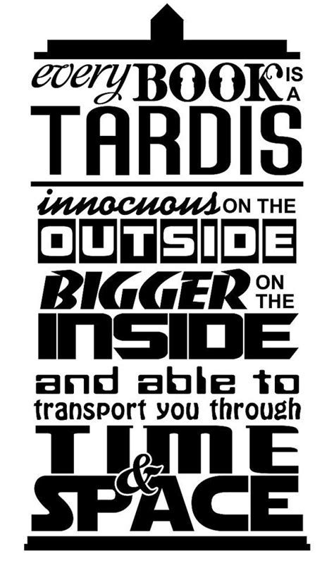 1000 images about a book is a tardis on doctor who inspired tardis is like a book quote by