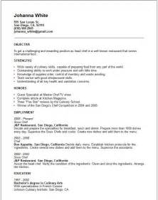 doc 638825 resume free sle resume templates for