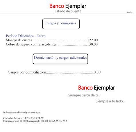 ejemplo estado de cuenta bancomer reportes ejemplo estado de cuenta bancomer ejemplo de estado de cuenta
