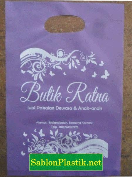 Pesanan Ratna by Percetakan Plastik Kemasan Sablon Plastik
