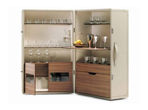 mobili frau mobile bar isidoro by poltrona frau design jean massaud