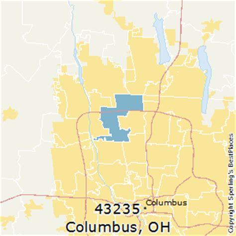 columbus zip code map best places to live in columbus zip 43235 ohio