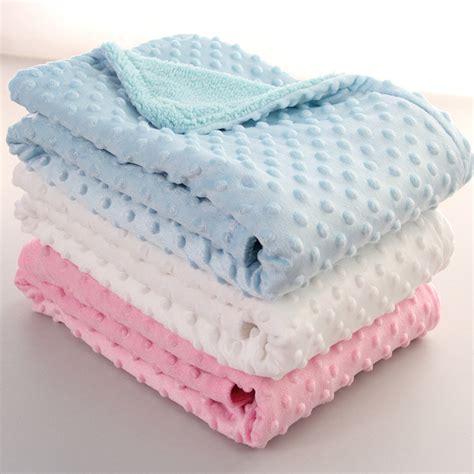 Fleece Baby Blanket Selimut Bayi 2 75 100cm fleece baby blanket newborn baby swaddle wrap soft winter baby bedding receiving