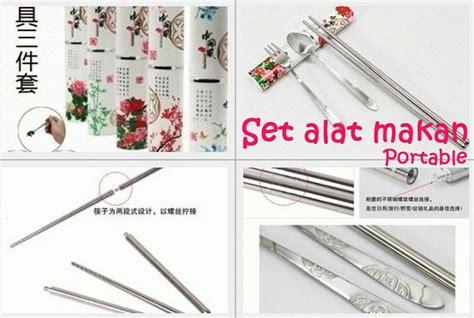 buy set alat makan portable garfu sendok sepasang sumpit deals for only rp25 800 instead of rp34 000