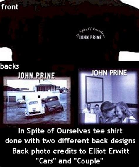 in spite of our selves prine collection of clothing