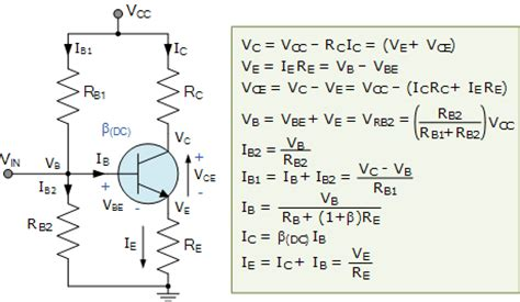 transistor jfet formulas transistor biasing and the biasing of transistors