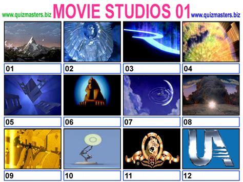 film industry quiz image gallery old movie studio logos