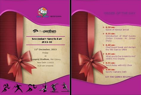 design of invitation card for sports day invitation card for sports day choice image invitation