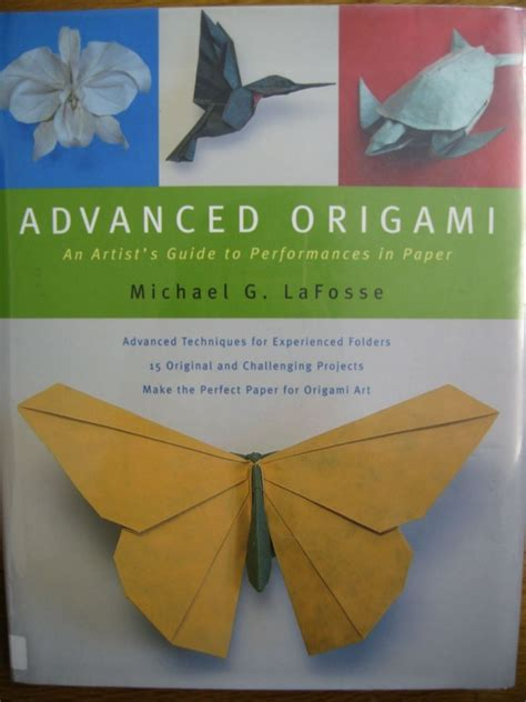 How To Make An Advanced Origami - michael la fosse advanced origami