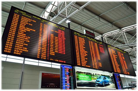 uk airport arrivals and departures information websites online flight arrivals and departures prague airport prg