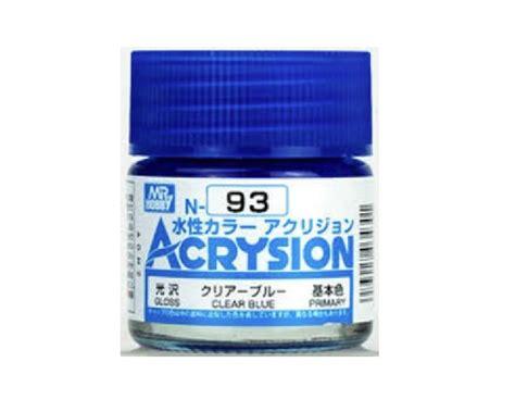 Mr Acrysion 4 gsi n93 mr hobby acrysion acrylic water based color