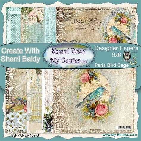 printable paper pack printable paper pack 6 x 6 bestie paris birds paper pack