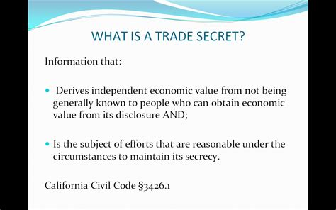 secret meaning the secret about trade secrets for salespeople phil