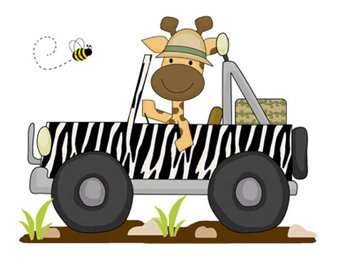safari jeep clipart jungle jeep clip gallery