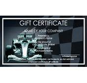 Car Wash Gift Certificate Templates  Easy To Use Certificates