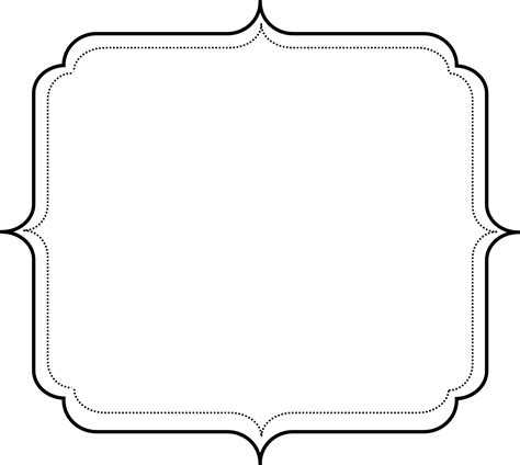 frame template free picture frame templates with lines studio
