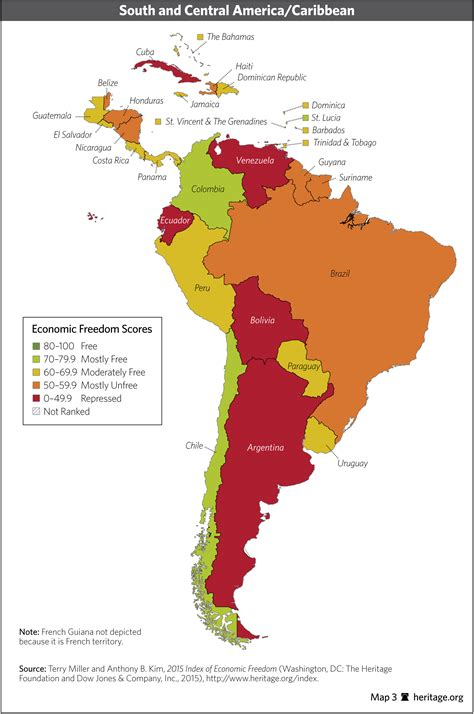 america economic map index of economic freedom data maps and book