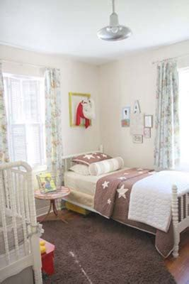 Decorating A Shared Kids Room Bed And Crib In Same Room