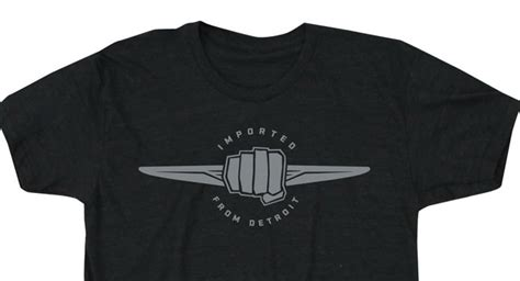 chrysler launches new imported from detroit merchandise