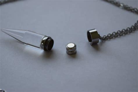 Light Necklace by Light Up Glow Pendant Necklace Eternity Led