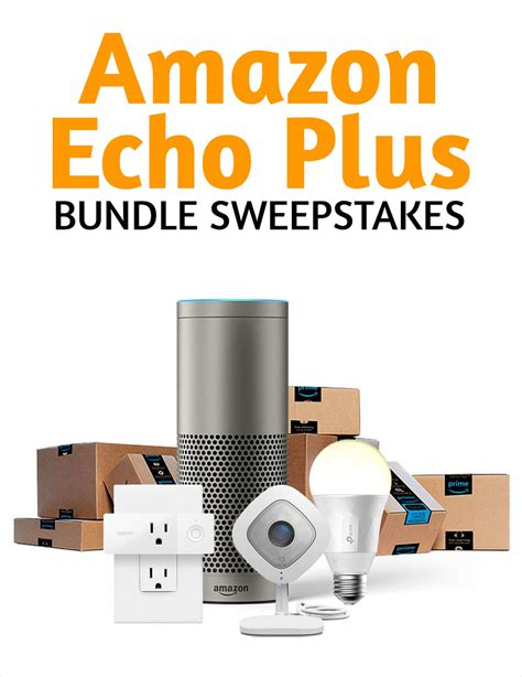 Sweepstakes Plus - hot offer alert for all publishers amazon echo smart home bundle sweepstakes
