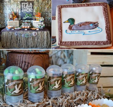 duck hunting bathroom decor rustic duck birthday party things i love pinterest