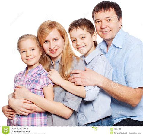 Happy Family On White Stock Photo Image Of Male Isolated 23864766 Genealogy Stock Photos Royalty Free