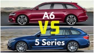 2017 bmw 5 series touring vs audi a6 avant