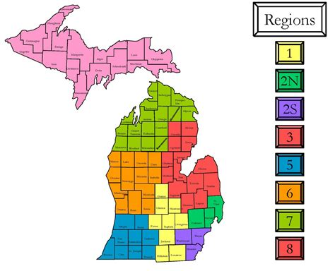 Michigan Search Osceola County Mi Map Images