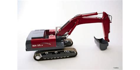 Rc Power Truck Escavator kit hydraulic excavator o and k rh 25 5 all metal scale 1