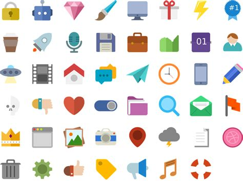 flat design icon download free vector graphic icons flat design design web
