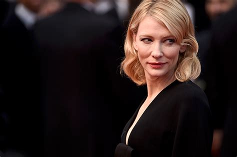 Blanchett Weighs In At Time 100 by Cate Blanchett Slams Selfies As Quot Pathetic Quot But Are You