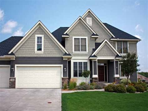 awesome 2 story craftsman style house plans house style