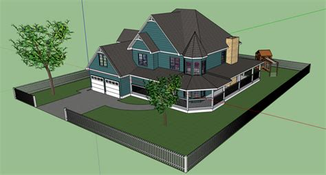 sketchup house by shai2623 on deviantart