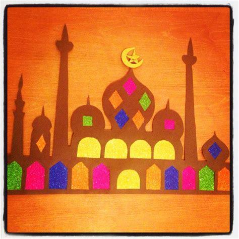 eid craft for ramadan decoration craft mosque ramadan