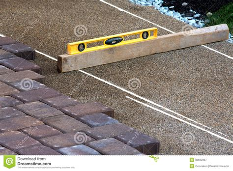 How To Level Patio Pavers by Pavers Ruler Royalty Free Stock Photography Image 33682367