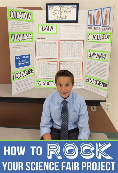 science fair projects how to rock your science fair project