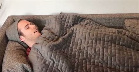 comfort blankets for adults get better stress free sleep with this weighted blanket