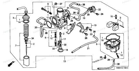 honda parts diagram honda trx 250 parts diagram honda auto parts catalog and